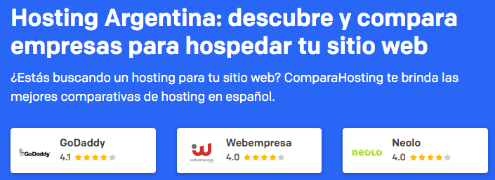 Hosting Argentina: comparativo entre compañías